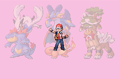 Pokemon Ruby Destiny Reign of Legends - my winning team - User Screenshot